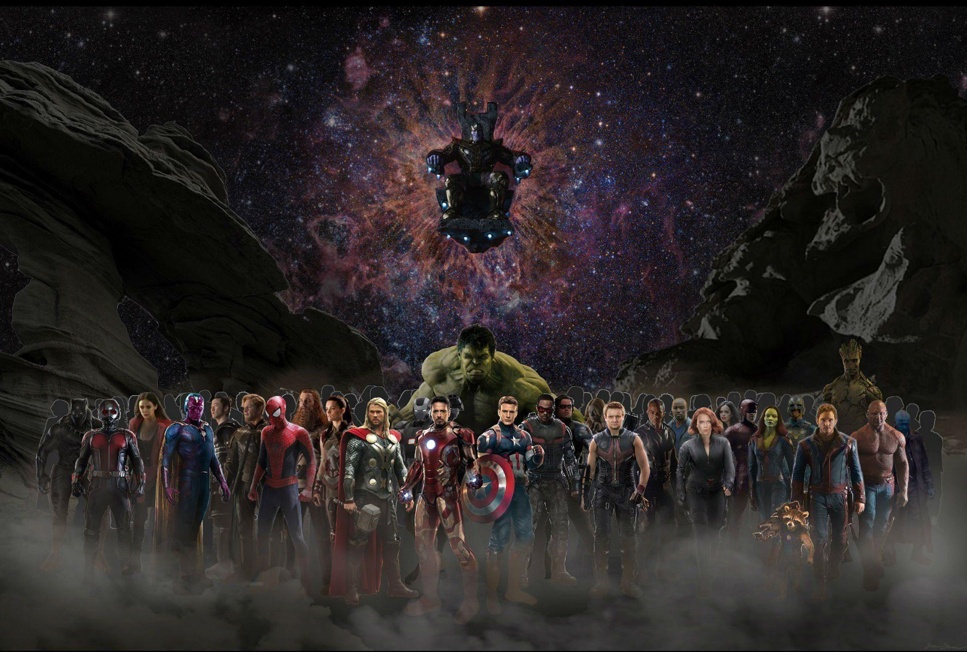 avengers infinity widescreen desktop wallpaper 923