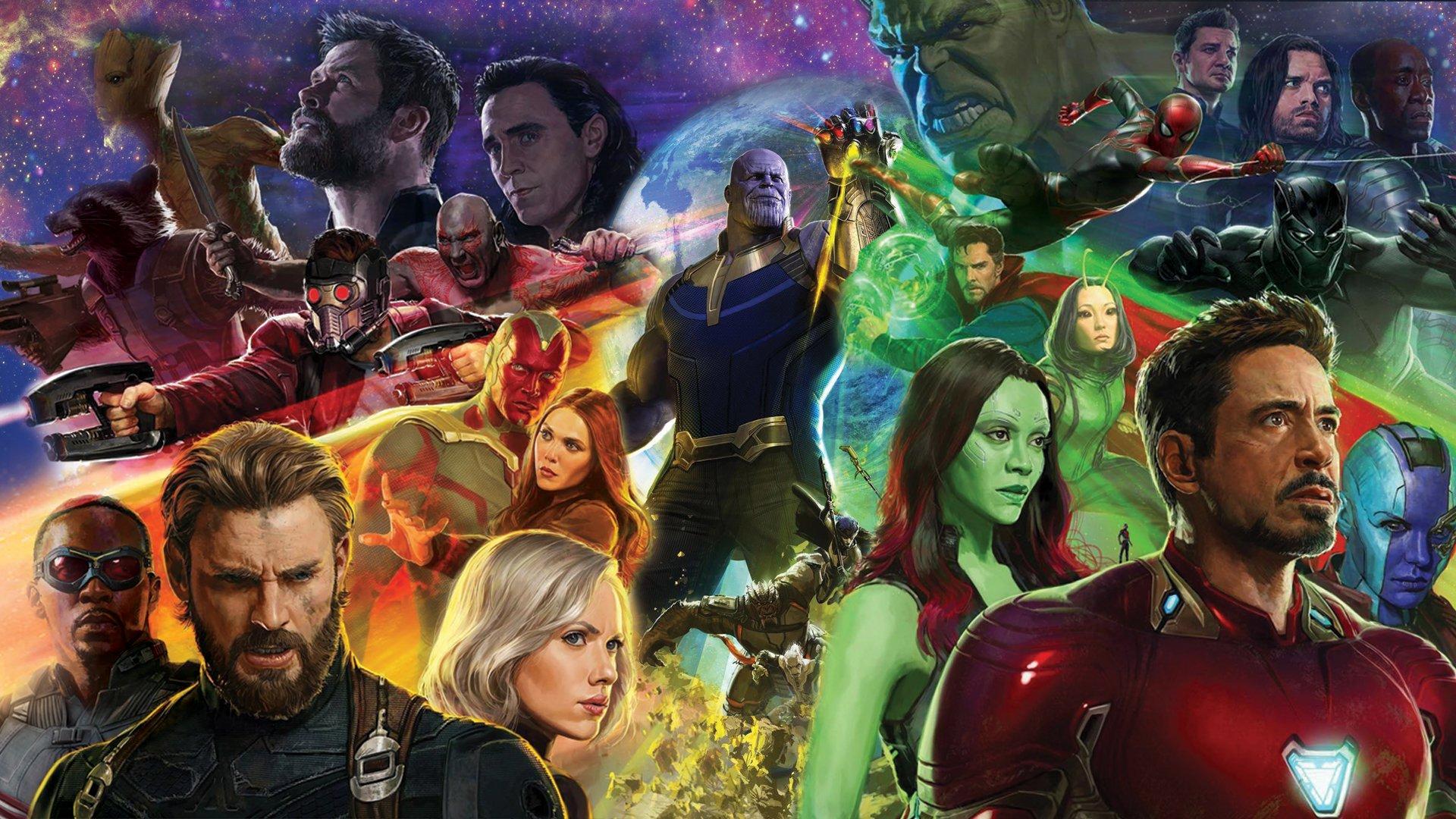 avengers infinity widescreen desktop wallpaper 924