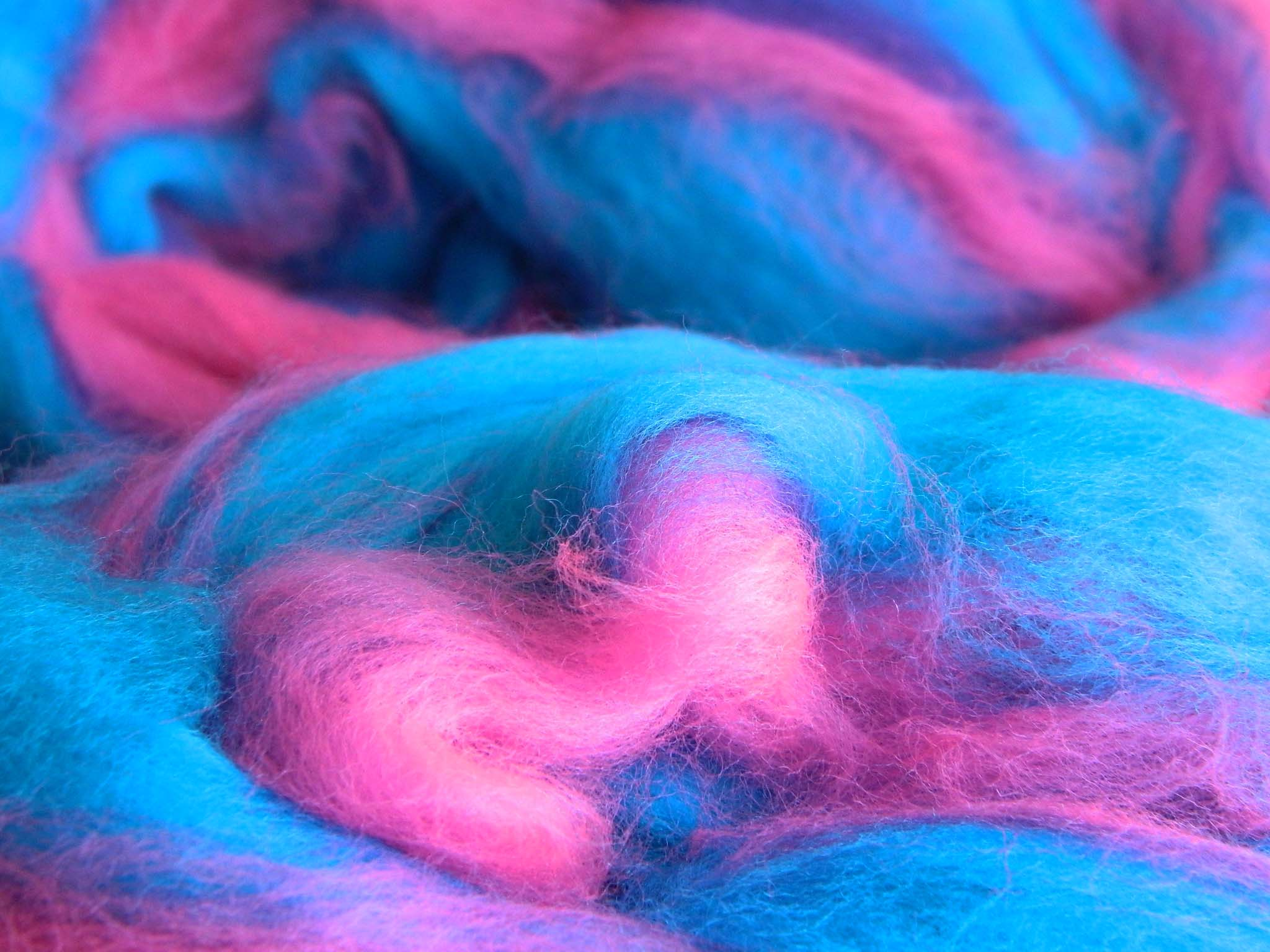 blue and pink cotton candy widescreen computer background 1161