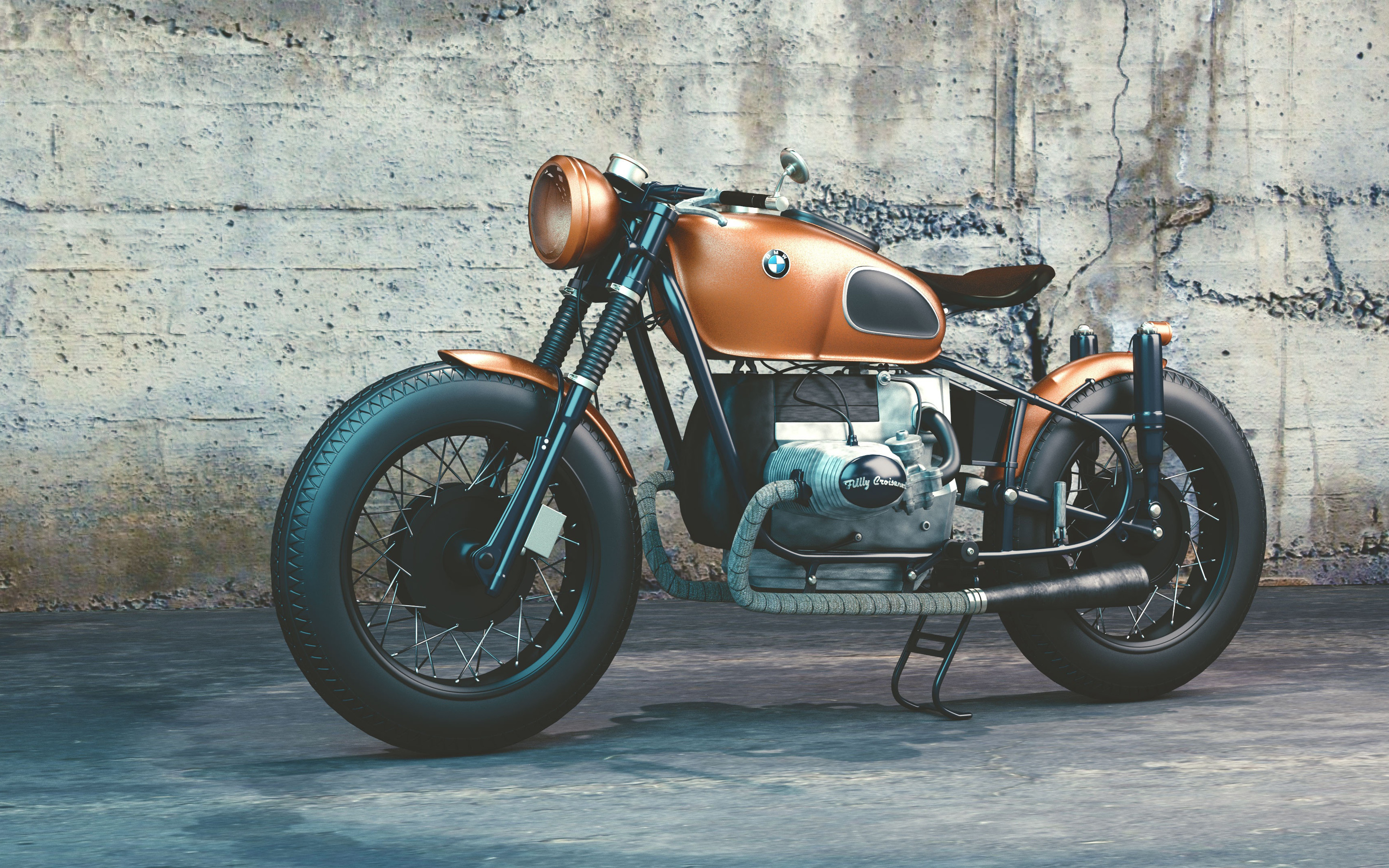 bmw r80 4k widesceen desktop wallpaper 666