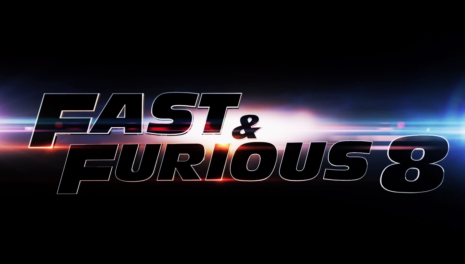 fast and furious 8 logo widescreen desktop wallpaper 1520
