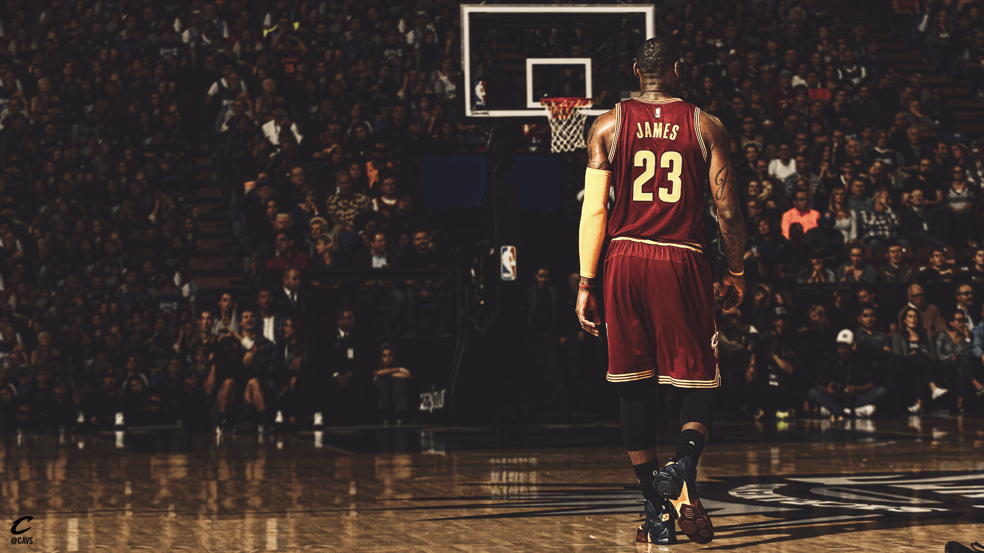lebron james cleveland desktop wallpaper 994