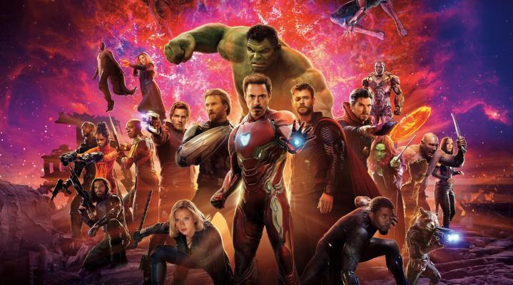 Avengers Infinity War 4K Desktop Background 918