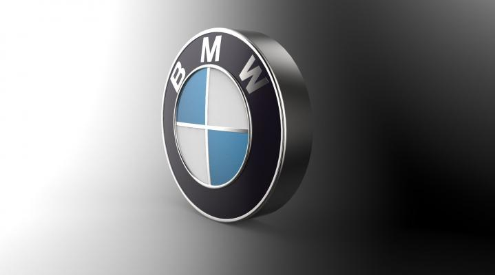 BMW Logo 3D Widescreen Wallpaper 364
