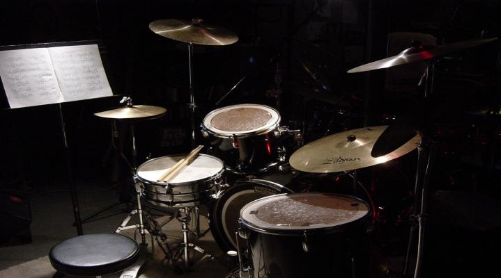 Drum Set Widescreen Desktop Wallpaper 1221