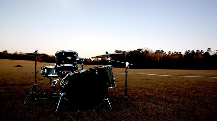 Drummer 4K Widescreen Computer Background 1217