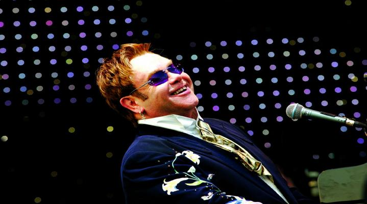 Elton John 4K Desktop Background 705