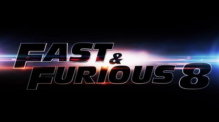 Fast and Furious 8 Logo Widescreen Desktop Wallpaper 1520