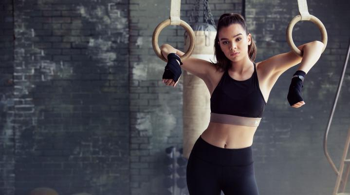 Hailee Steinfeld Workout Gear Wallpaper 198