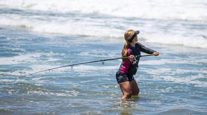Ocean Fishing Widescreen Wallpaper 692