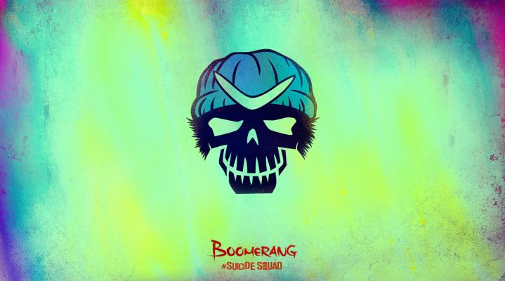 Suicide Squad Boomerang Computer Background 1145