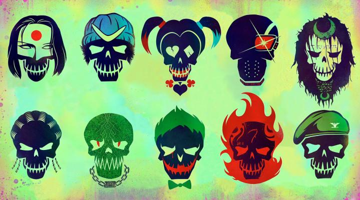 Suicide Squad Characters Widescreen Computer Wallpaper 1159