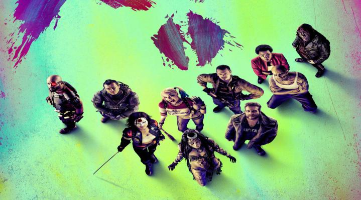 Suicide Squad Movie 4K Widescreen Desktop Wallpaper 1143
