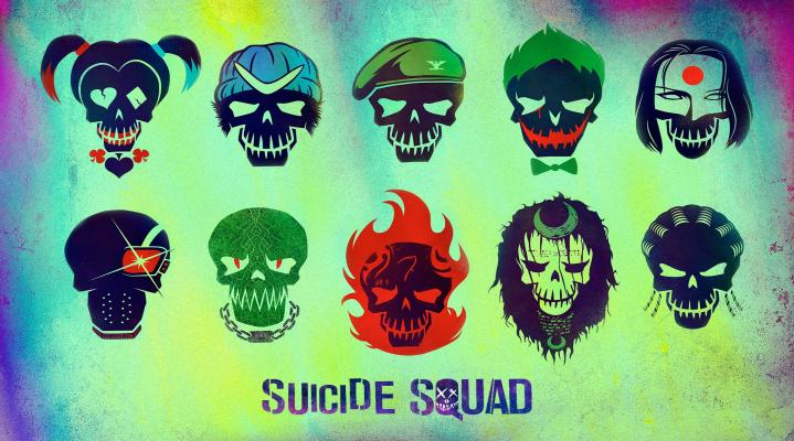 Suicide Squad Widescreen Desktop Background 1155