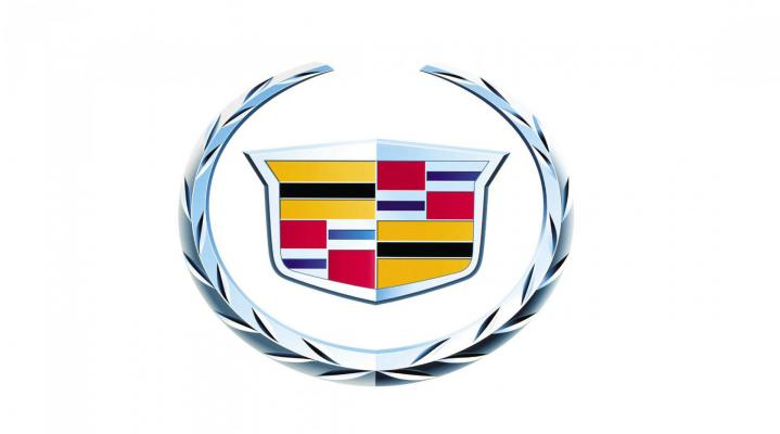 White Cadillac Logo Desktop Wallpaper 926