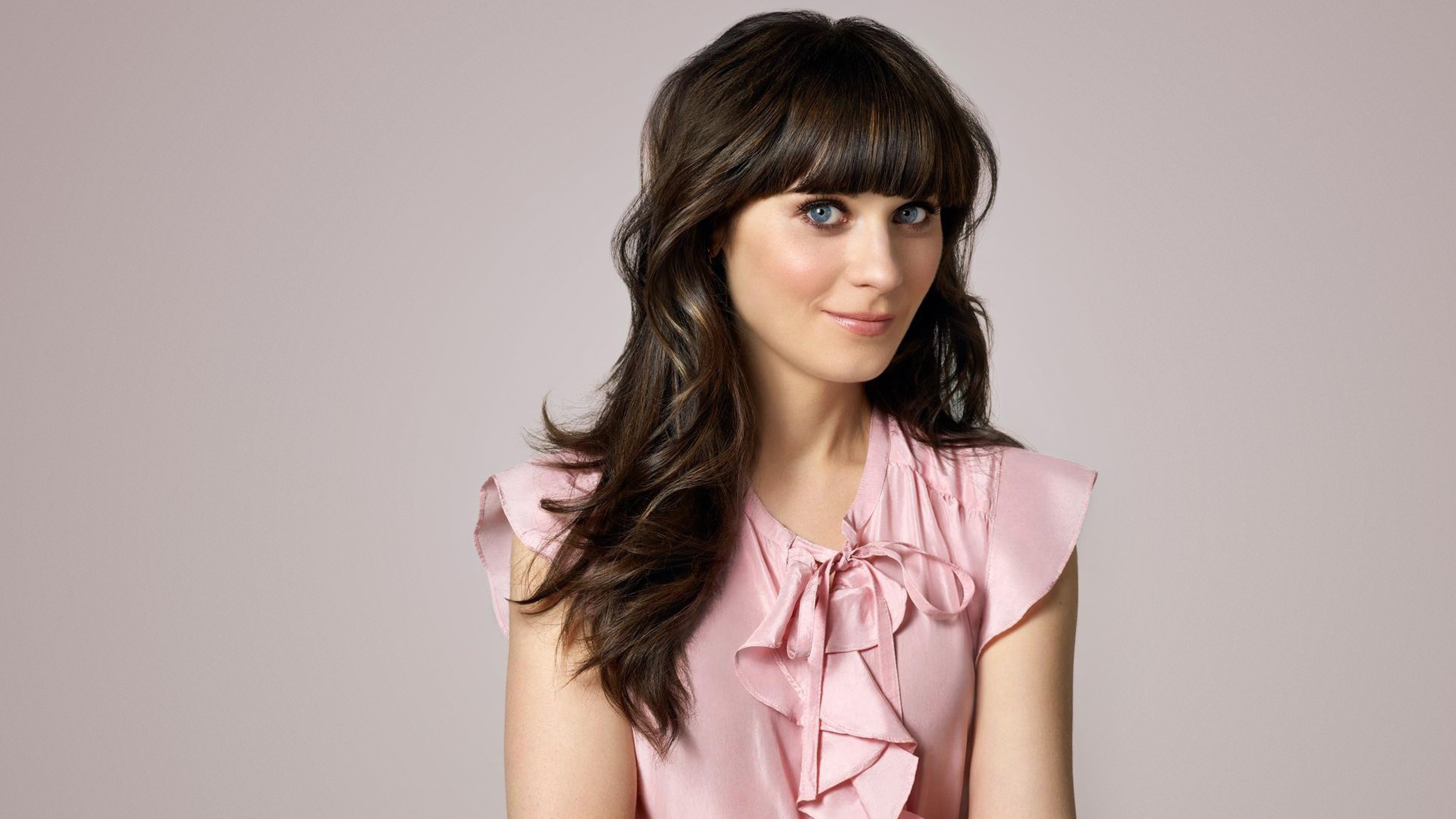 zooey deschanel new girl widescreen computer background 954