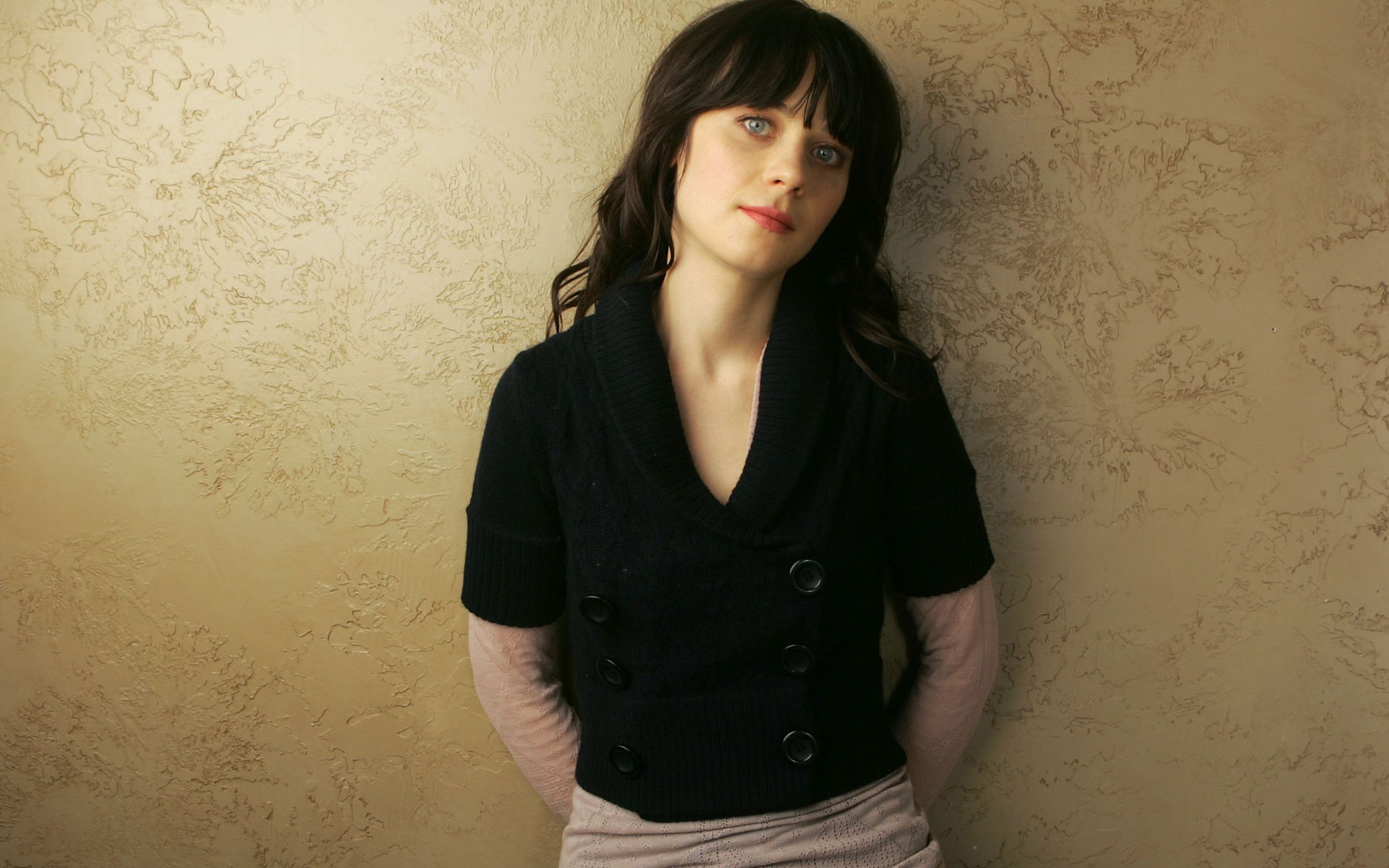 zooey deschanel widescreen computer background 953