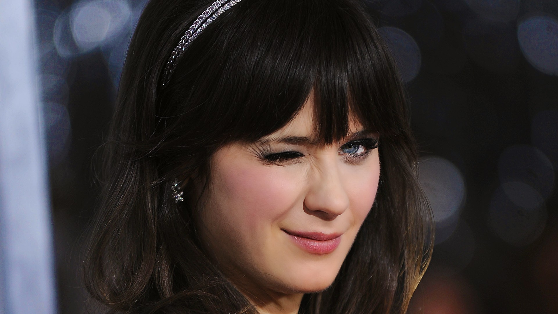 zooey deschanel widescreen desktop wallpaper 958