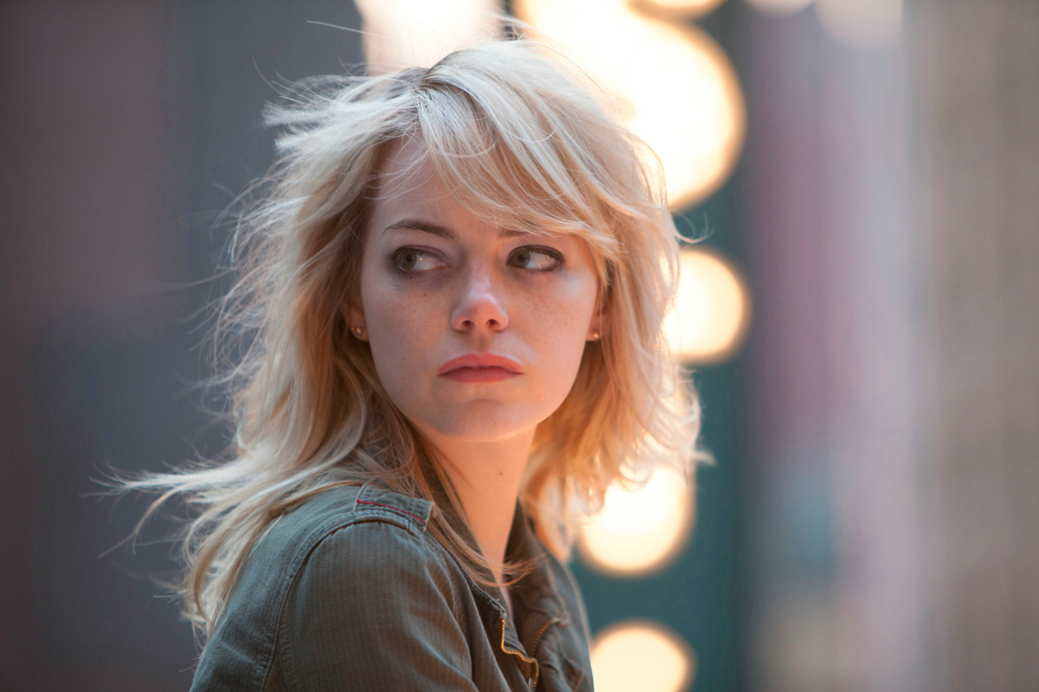 emma stone 4k widescreen desktop wallpaper 1384