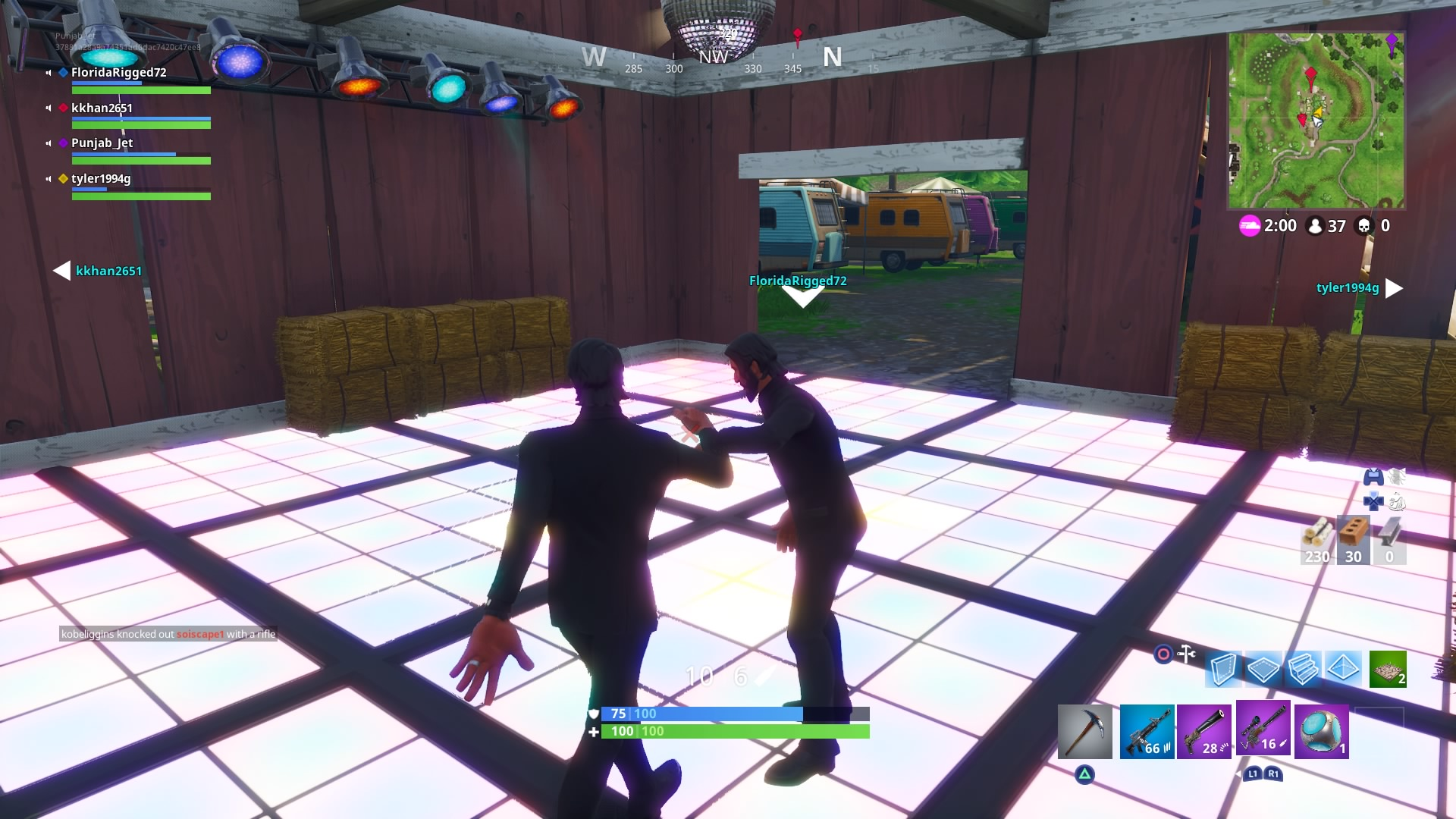 fortnite dance party desktop wallpaper 803