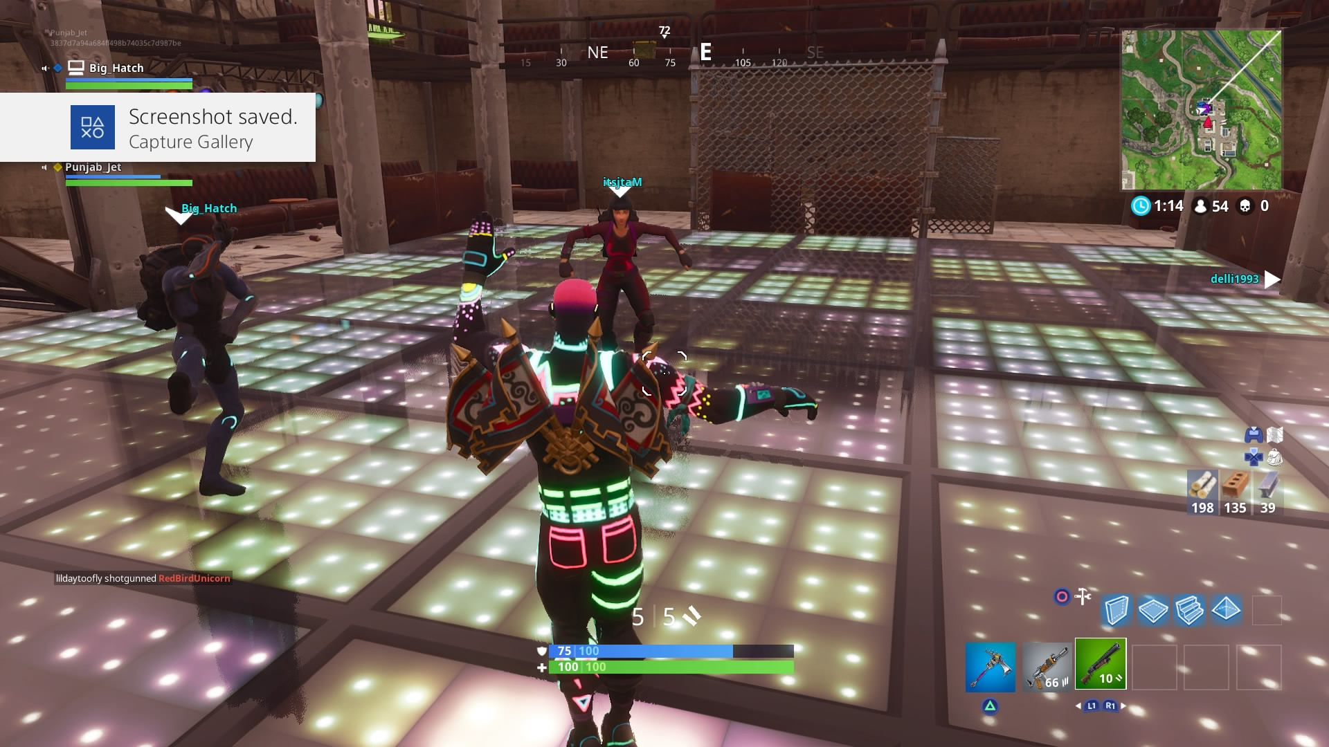 fortnite dubbed liteshow dance widescreen desktop wallpaper 820