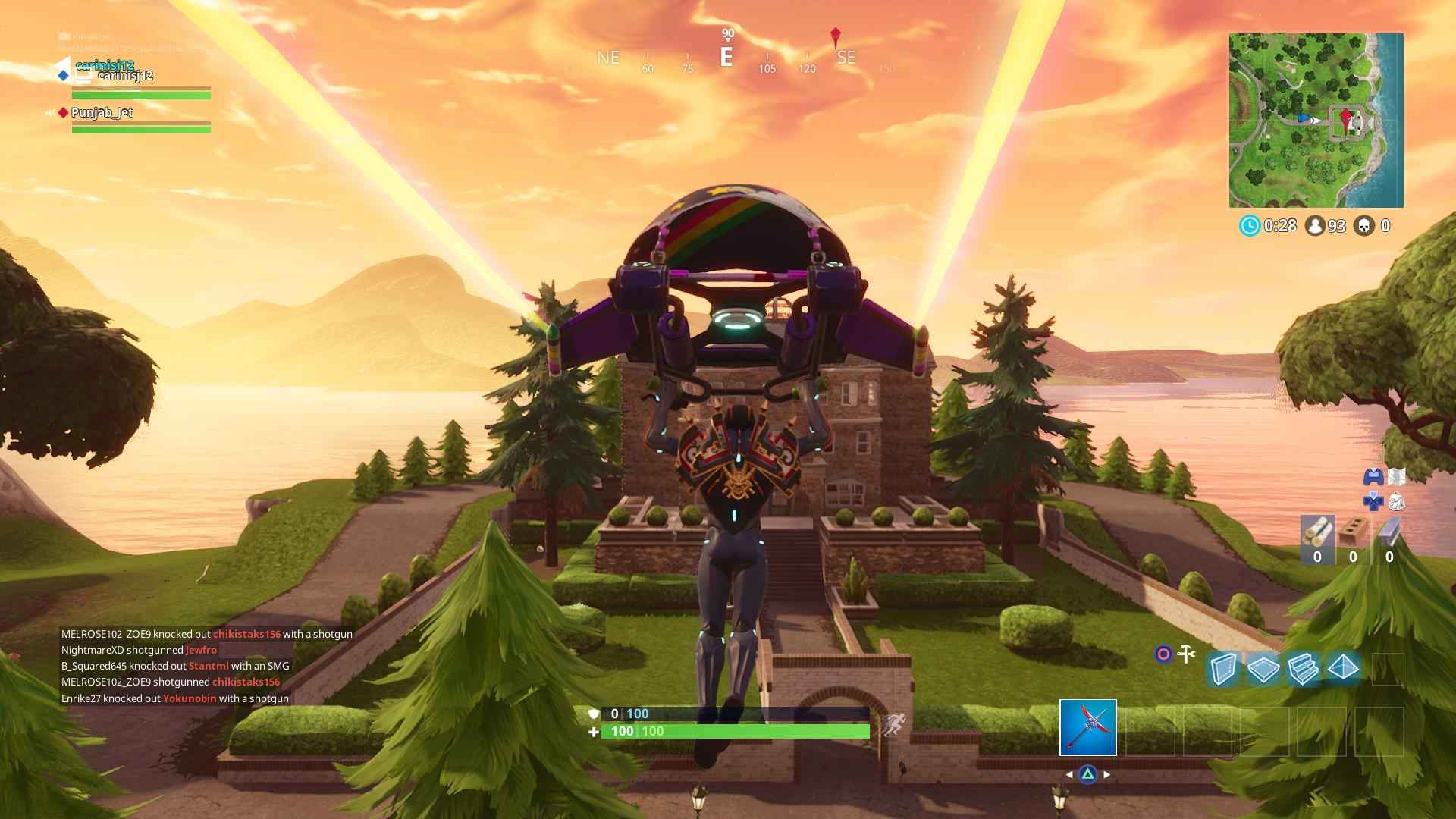 fortnite mansion widescreen desktop wallpaper 824