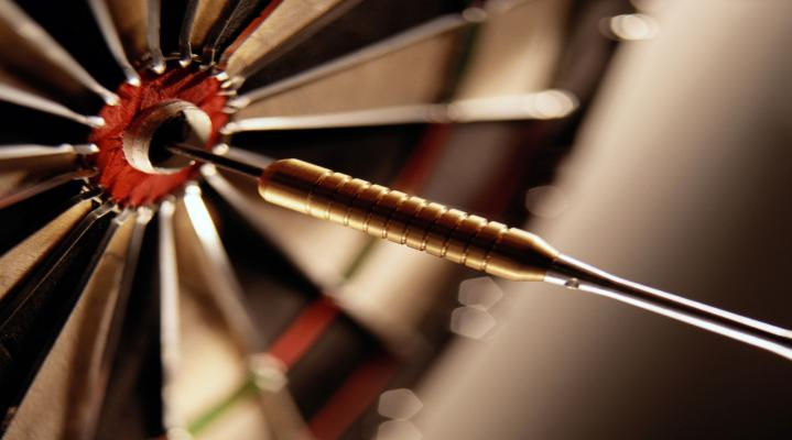 Dart Board Game Desktop Background 1307