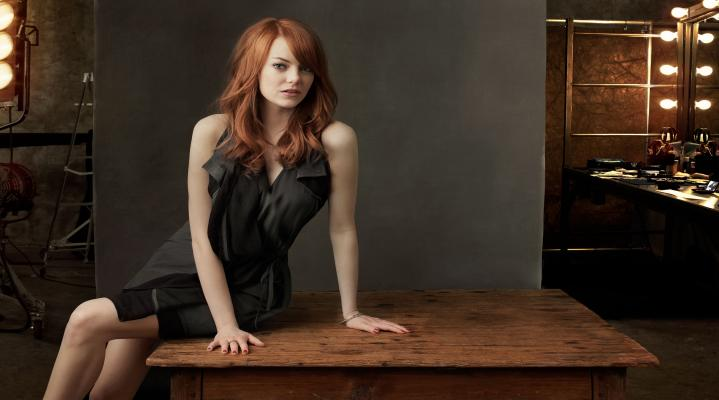 Emma Stone Widescreen Computer Background 1388