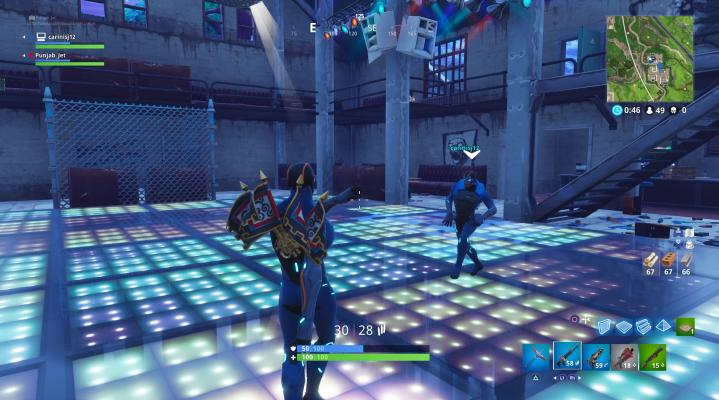 Fortnite Carbide Dance Party Computer Wallpaper 825
