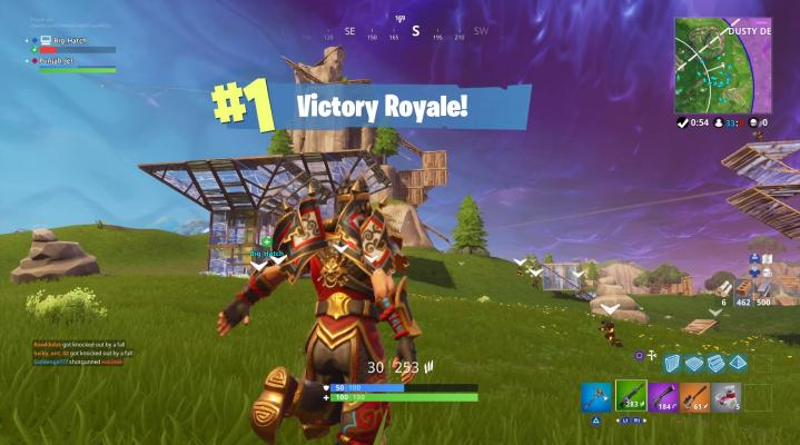 Fortnite Victory Royale Widescreen Wallpaper 515