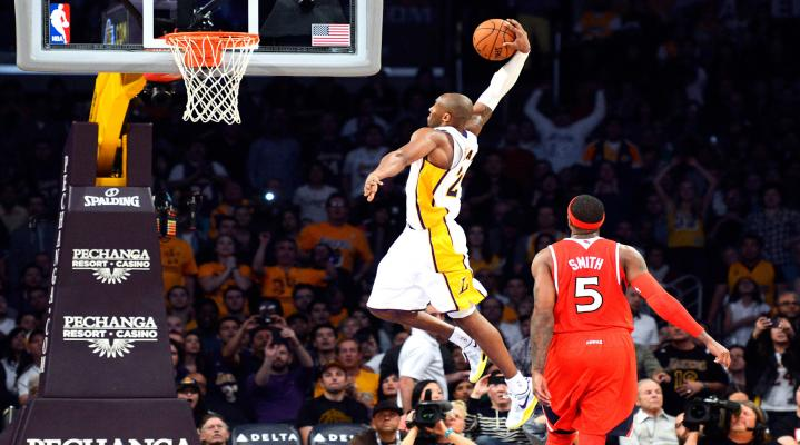 Kobe Bryant Dunk Desktop Wallpaper 545