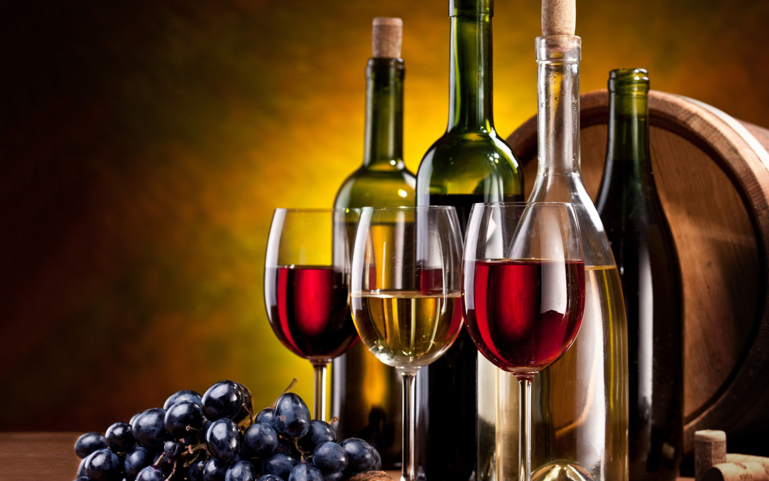 Wine Bottles Widescreen Desktop Wallpaper 536 2560x1600 Px