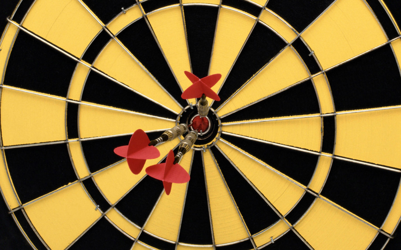 yellow dart board game widescreen desktop wallpaper 1302