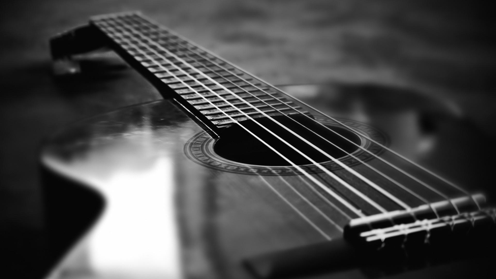 black and white guitar wallpaper 140