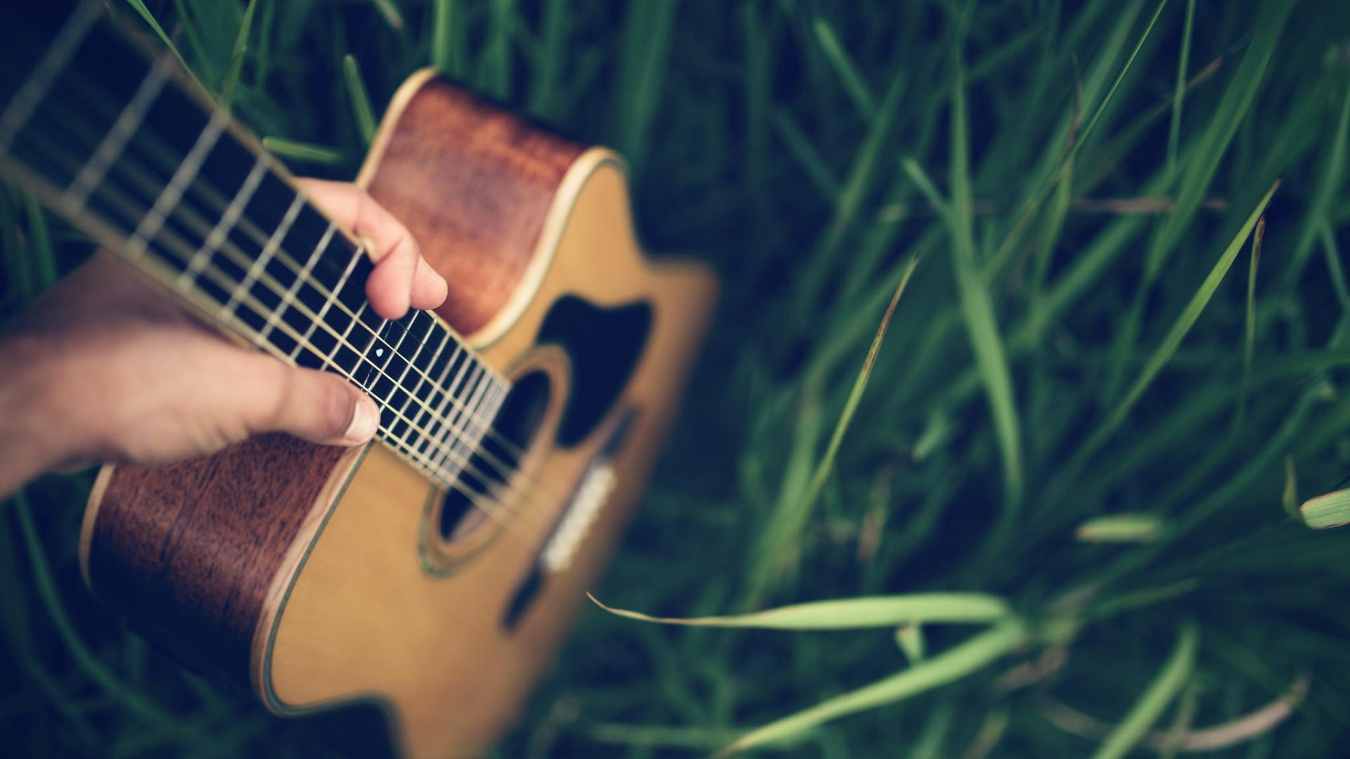 guitar nature wallpaper 143