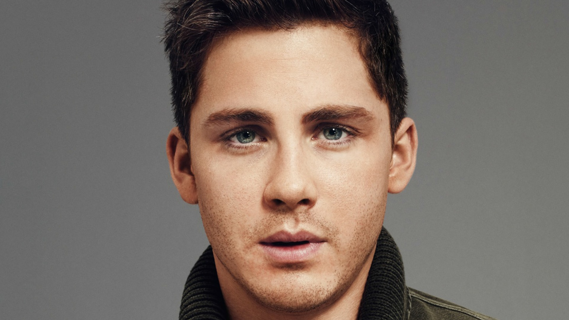 logan lerman face wallpaper 169