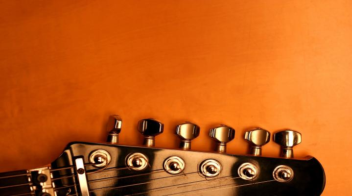 Guitar Up Close Wide HD Wallpaper 142