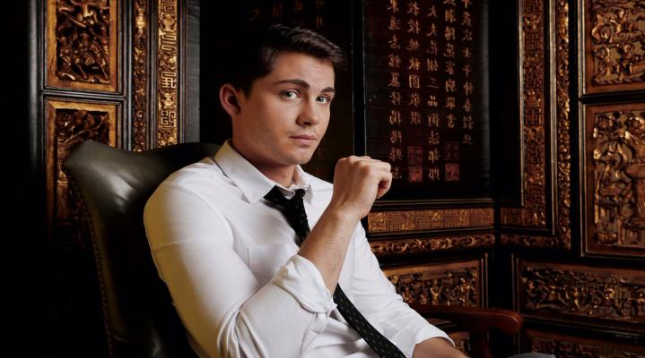 Logan Lerman Celebrity HD Wallpaper 176