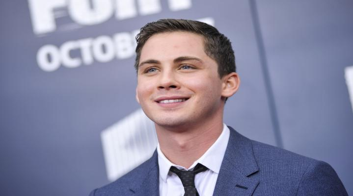 Logan Lerman Celebrity Smile Wallpaper 181