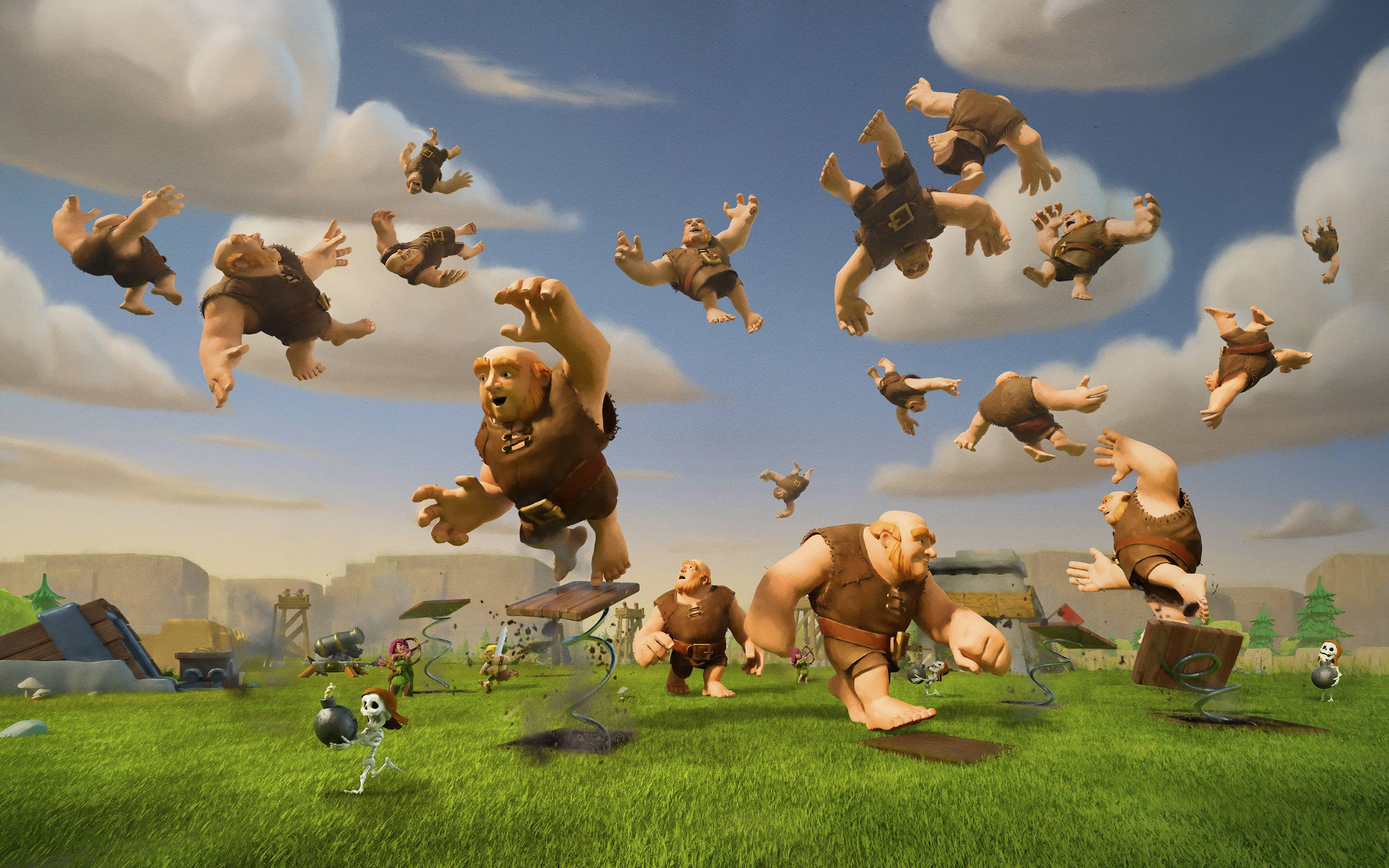 clash of clans wallpaper background hd 75