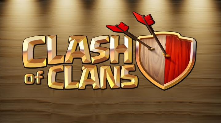 Clash of Clans Logo Wallpaper Background 72