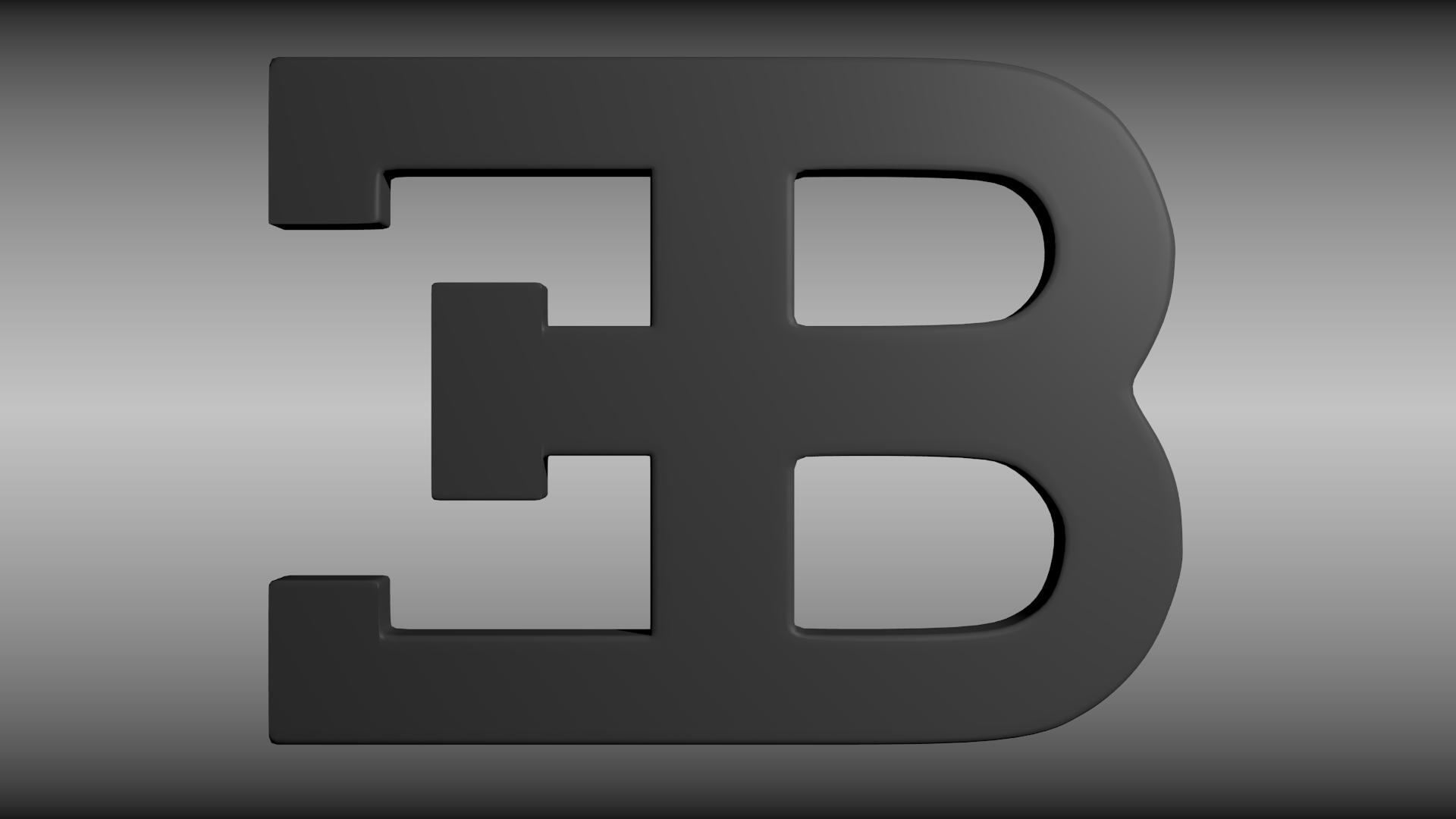 bugatti logo widescreen computer background 875