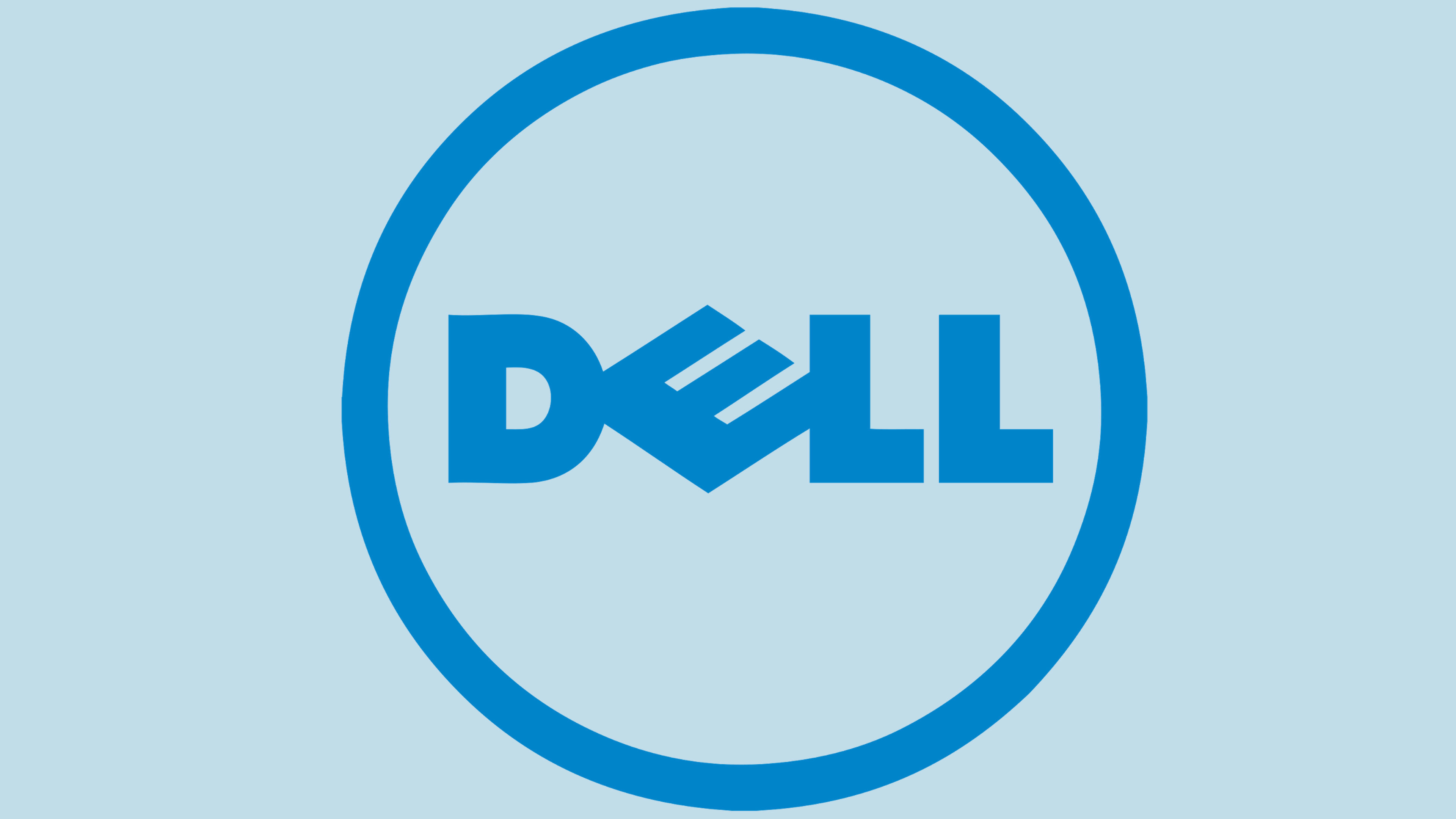 dell logo 4k widescreen desktop wallpaper 878
