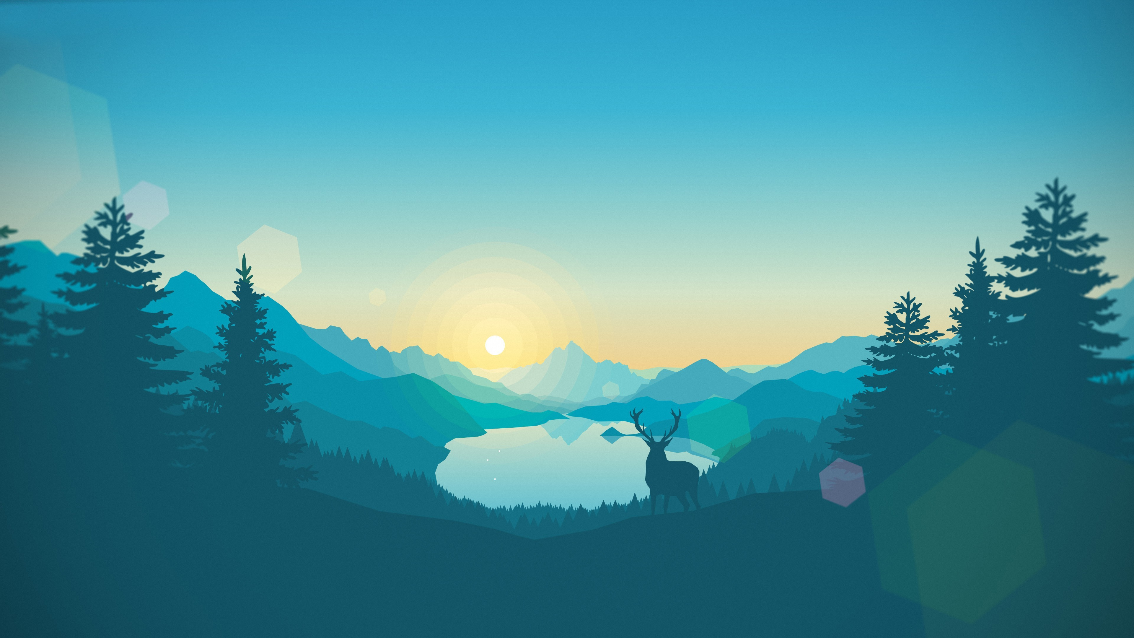 Firewatch 4k widescreen wallpaper 406