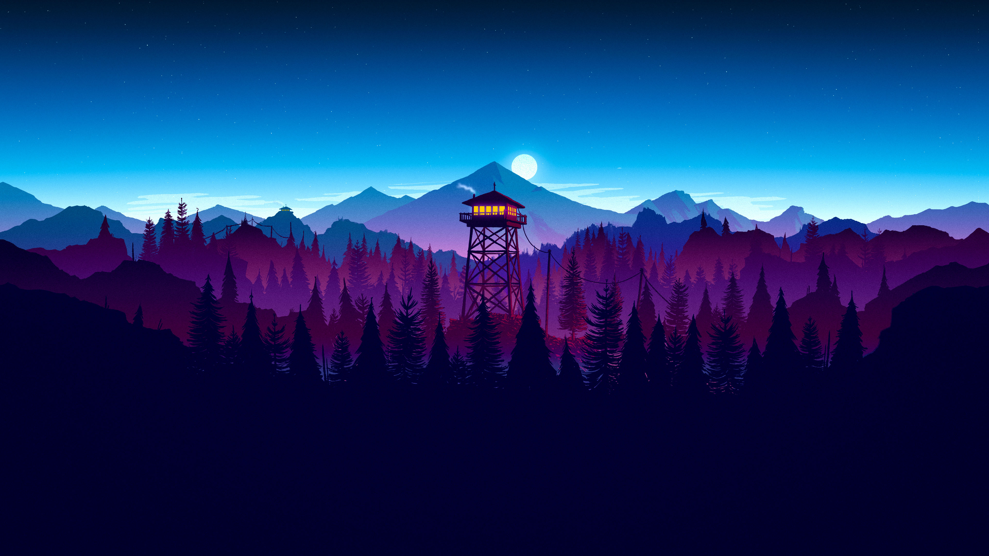 firewatch 4k widescreen wallpaper 412