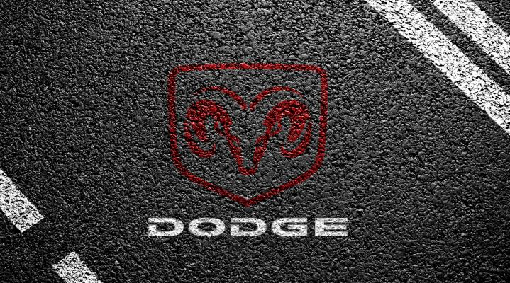 Dodge Logo Widescreen Desktop Wallpaper 827