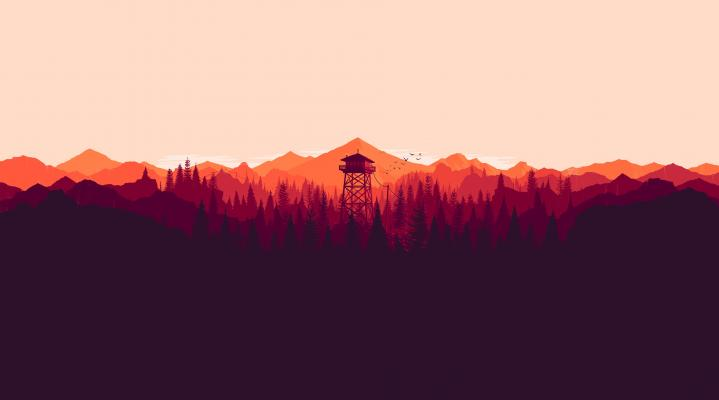 Firewatch 4K Desktop Background 405