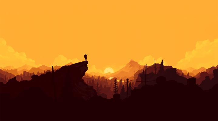 Firewatch 4K Widescreen Desktop Wallpaper 417