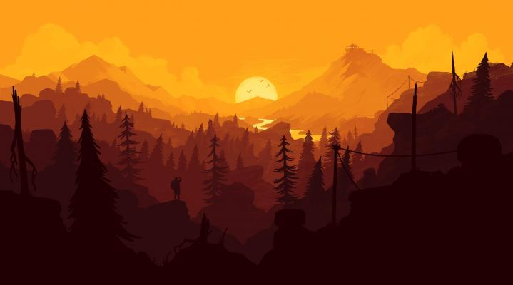 Firewatch 4K Widescreen Desktop Wallpaper 421