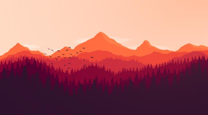 Firewatch Bird Computer Wallpaper 411